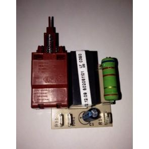Frenko / Edy aan / uit schakelaar met print voor wasdroger Witgoedpartsnr: 651014177