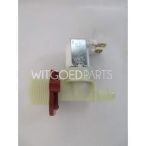 Universeel Inlaatventiel enkelvoudig recht dunne tuit 115mm voor wasmachine  witgoedpartsnr: alt13-001253