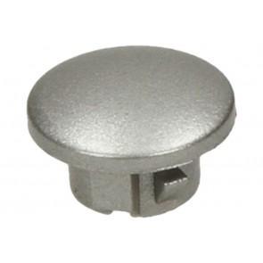 Whirlpool Bauknecht Knop zilver van magnetron 481241259087