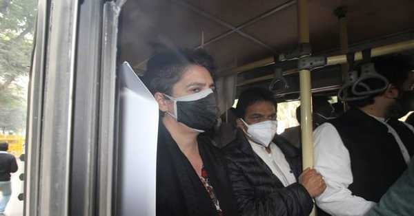Congress dispatches fiercest assault on Modi govt over ranch laws, Priyanka Gandhi detained