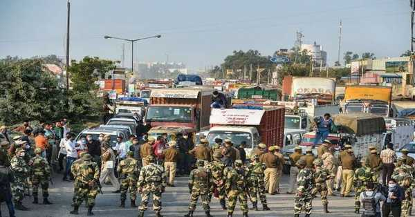 Delhi sign on permission to enter farmers in capital, Declare a place for peaceful protest