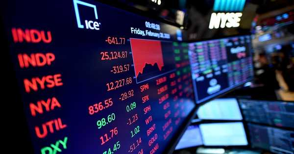 Stock Market shows downward today