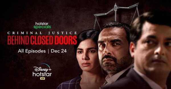 Pankaj Tripathi As Madhav Mishra is back with a blast, Criminal Justice Season 2 trailer