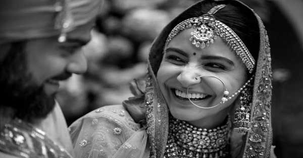 Indian Cricketer Virat Kohli Shares their gorgeous photograph of marriage on his third marriage  anniversary
