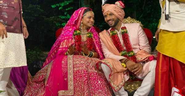Choreographer Puneet Pathak weds his best Nidhi Mooney Singh in Lonavala