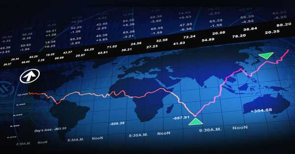 Global Stock Market Updates: most of the markets show upwards trend except American