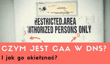 Czym jest CAA w DNS i jak go okiełznać?