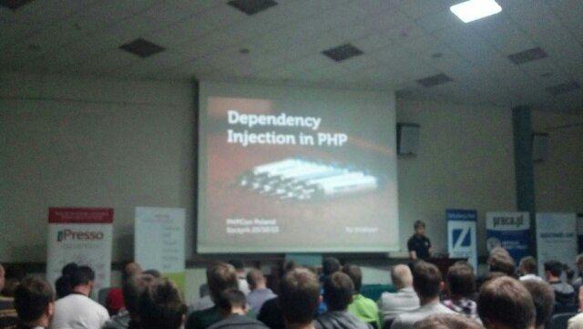 Kacper Gunia prezentuje zalety dependency injection