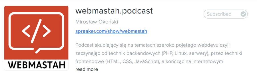 webmastah.podcast