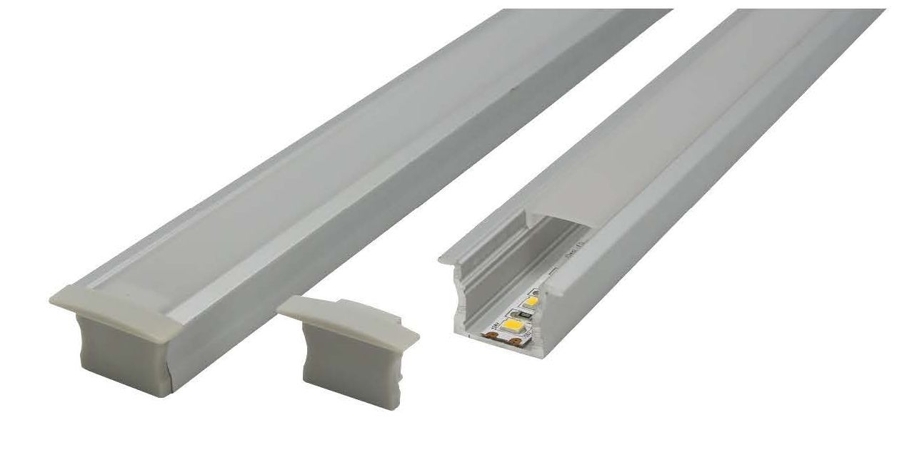 LED Profile - Recessed Aluminium Profile E703-R