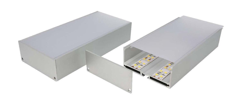 E746 Heavy Duty Wide Aluminium Profile