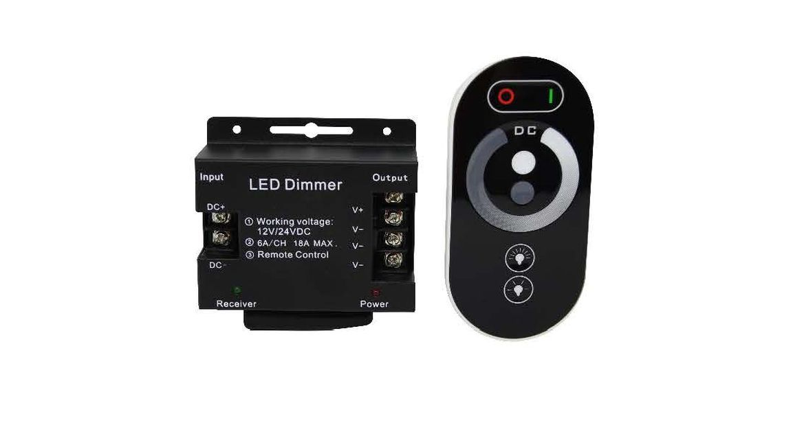 LED Touch Single Colour Dimmer