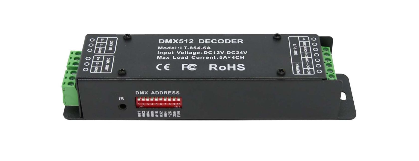 Channel RGBW DMX Decoder
