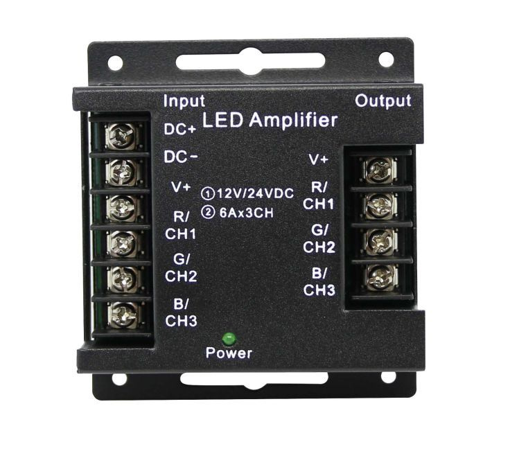 RGB LED amplifier
