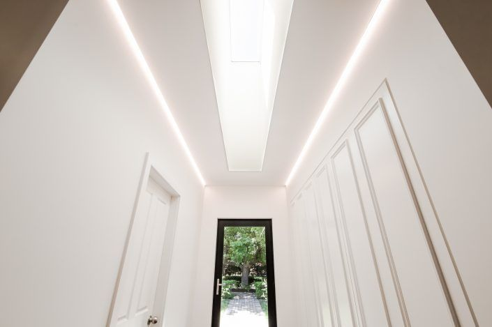 LED Striplighting Skylight and Shadowline