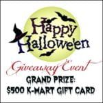 happy halloween giveaway
