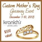mother's ring giveaway
