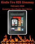february kindle fire hdx giveaway