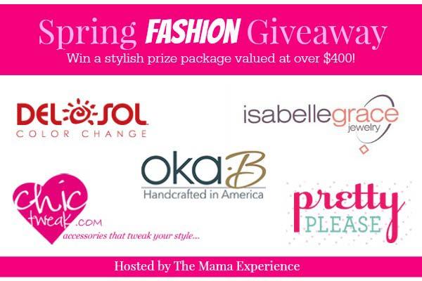 spring fashion giveaway