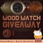 wood watch giveaway