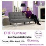 dhp furniture zoe futon image
