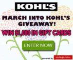 kohl's giveaway image