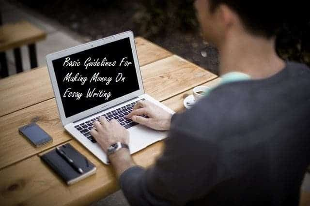 Making money on essay writing