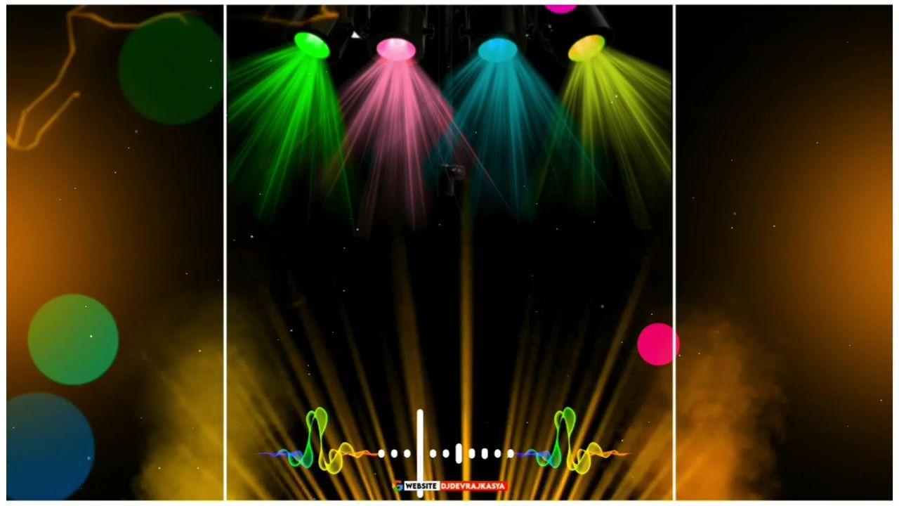 Trending Green screen Dj Light avee player Template download