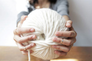 Learn how to knit with Wool and the Gang