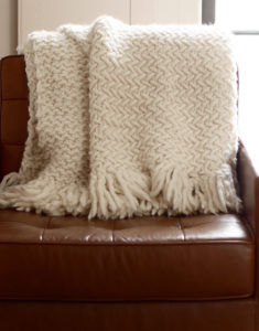 Knit the Koselig Blanket with Wool and the Gang