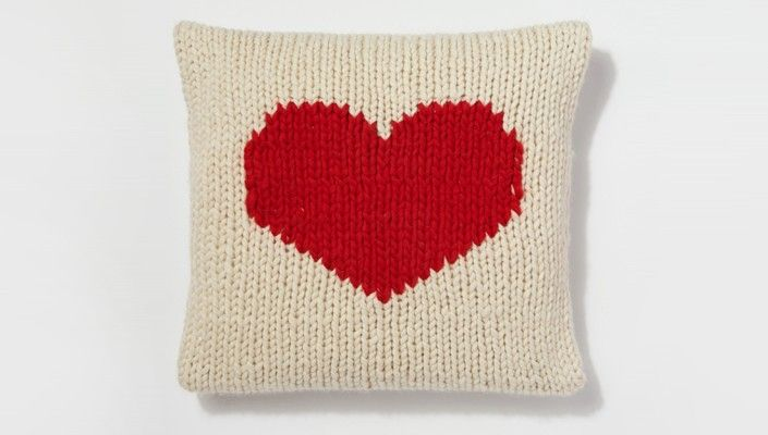 Free Crazy For You Cushion Pattern