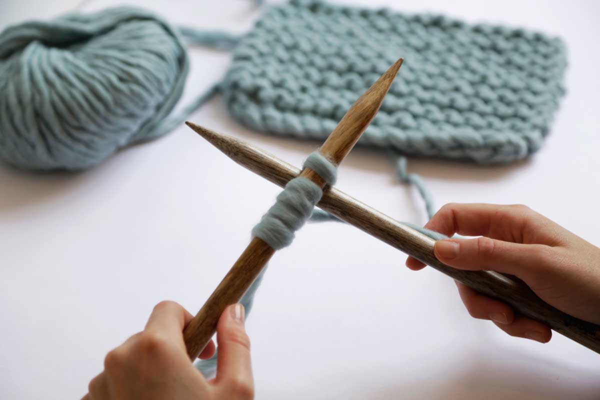 Learn how to knit a sweater with Wool and the Gang