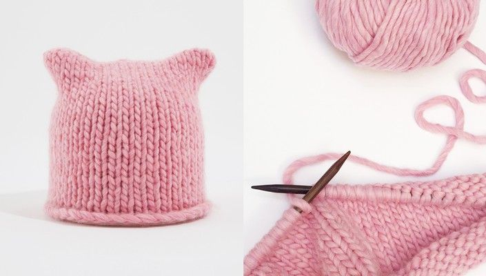 Katknits Pussy Hat Free Pattern