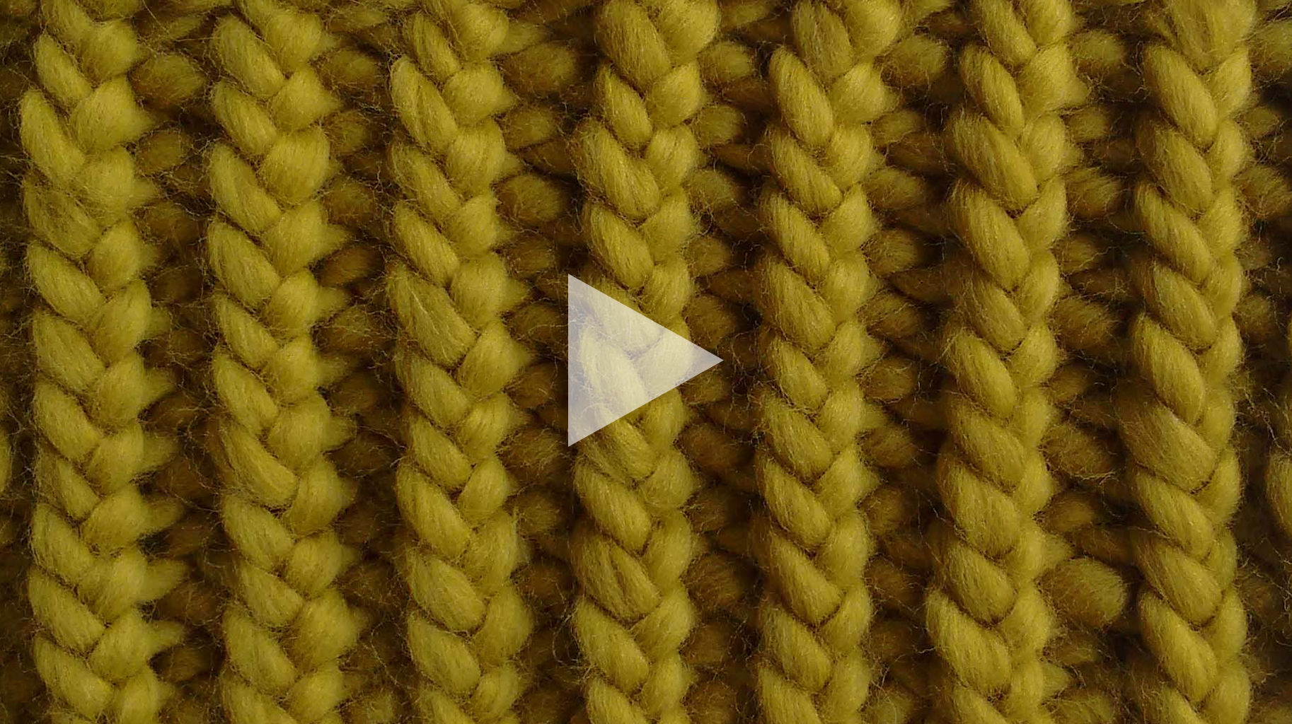 Learn how to knit twisted rib stitch with our video tutorial.