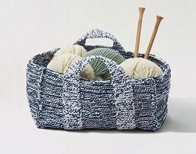 Sea Bed Basket Free Crochet Pattern