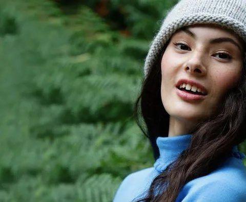 Burning Love Beanie Hat Free Knitting Pattern