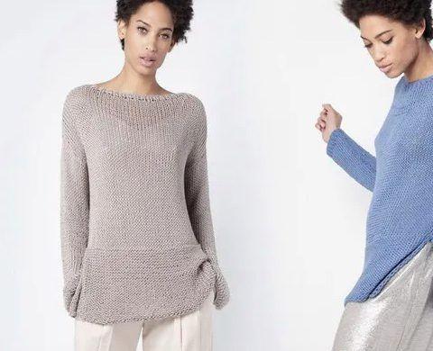 Easy Breezy Sweater Free Knitting Pattern