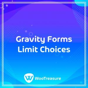 Gravity Forms Limit Choices