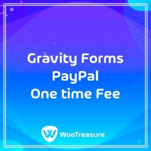 Gravity Forms PayPal One time Fee
