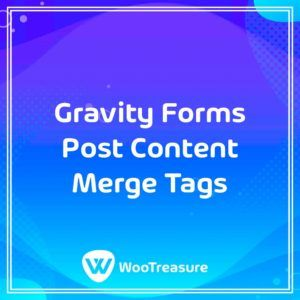 Gravity Forms Post Content Merge Tags