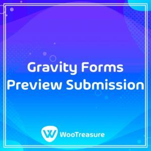 Gravity Forms Preview Submission