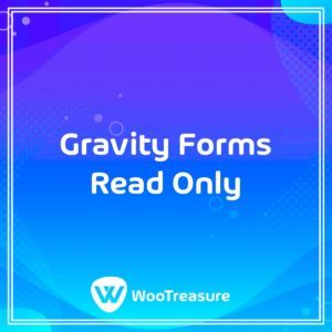 Gravity Forms Read Only