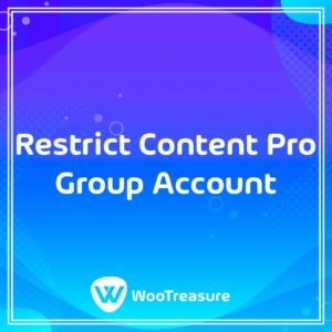 Restrict Content Pro Group Account