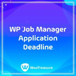 WP Job Manager Application Deadline WordPress Plugin