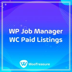 WP Job Manager WC Paid Listings WordPress Plugin