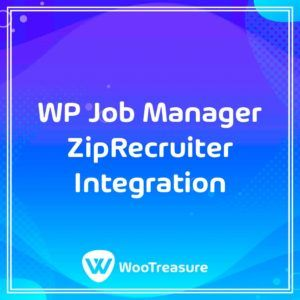 WP Job Manager ZipRecruiter Integration WordPress Plugin