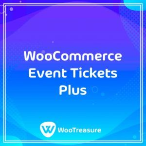 WooCommerce Event Tickets Plus