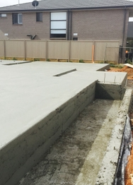 New Home Construction Concrete job in Spring Farm, NSW by Nabilton Group Pty Ltd