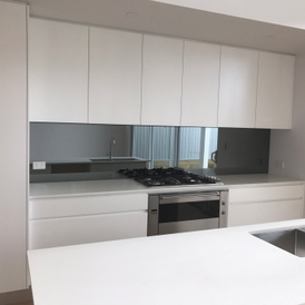 Woolooware New Home Job By Clear Choice Gl Mirror Splashback