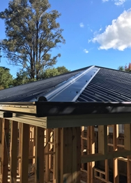 New Home Construction Roofing job in Baulkham Hills, NSW by Skyline Roofing & Guttering
